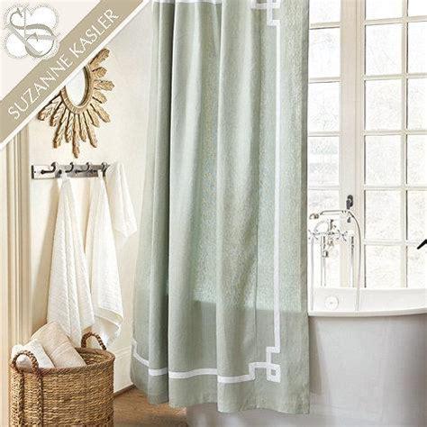 ballard curtains suzanne kasler greek key shower curtain ballard designs