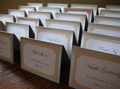 how to make event escort cards three variations kin diy 45 best images about menu tent cards on pinterest fonts