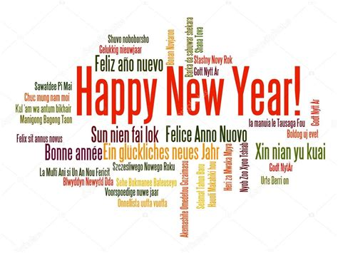 happy new year word cloud stock vector 169 paulpaladin