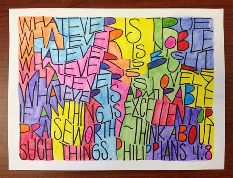 pattern art projects high school dense text lettering teachkidsart