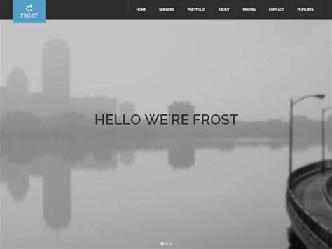 theme of design by frost 115 best flat design wordpress themes 2018