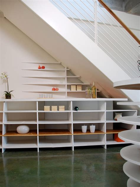 under stair ideas 30 under stair shelves and storage space ideas freshome com