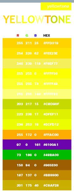 light yellow color code warm in hex rgb code for the home rgb code