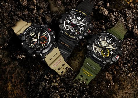 G Shock Gshock Gg 1100 Black Gold the casio g shock mudmaster gets smaller cheaper with