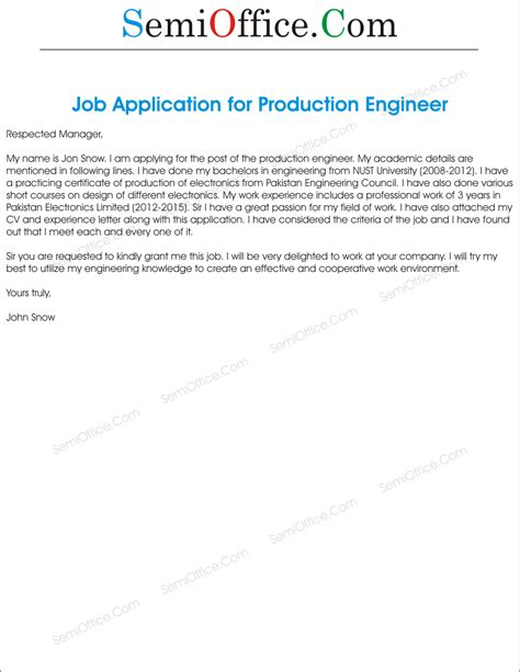 application letter for marine engineering 28 application letter marine engineer 4 application