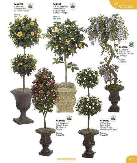Gardenia Pine Tree Artificial Flowering Plants Silk Floral Stems