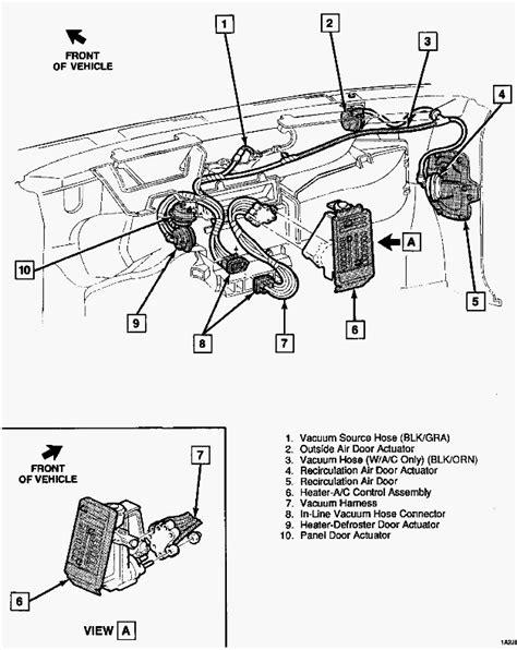 '91 A/C floor vent not closing. Blazer Forum Chevy Blazer Forums
