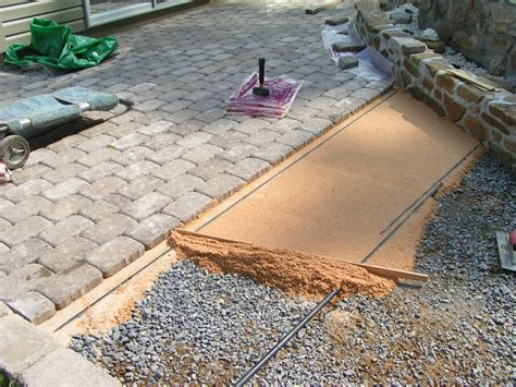 Projects003 Jp S Home Improvement Patio Paver Sand