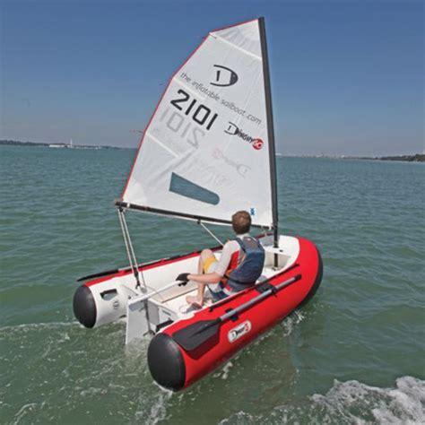 zeilboot opblaasbaar dinghygo l annexe 224 voile pour les grands et les petits