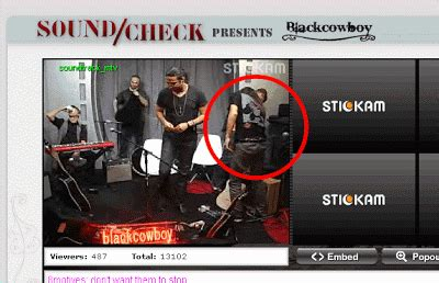Blackcowboy Wears Juzd Shirt On Mtv And Mtv Uk