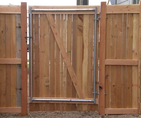 frontier fence company  metal gate frames
