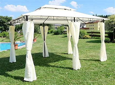 stabiler gartenpavillon 3x4 eleganter garten pavillon gartenpavillon 3x4 meter mit 6