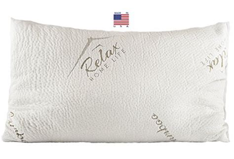Stay Cool Bamboo Pillow by Bamboo Pillow Usa Made Premium Quality Pillow With Stay