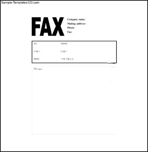 cat fax cover letter free word template download sle