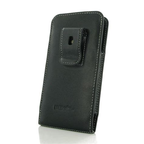 leather clip pouch samsung galaxy a8 pouch with belt clip pdair sleeve holster