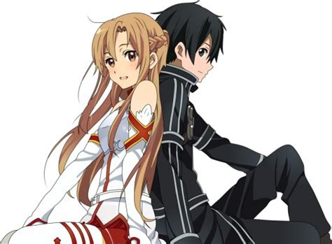 Dakimakura Guling Side Sword Asuna Kirito top 5 anime couples hubpages