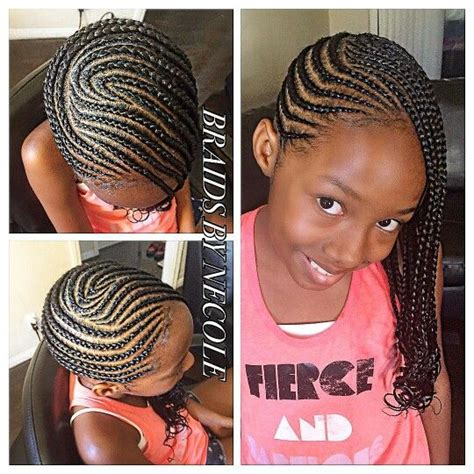 hairstyles plaited children cornrows natural hair style braids pinterest