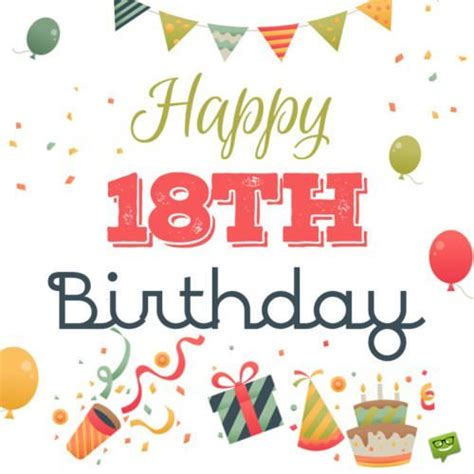 Happy 18th Birthday Wishes For 20th Birthday Wishes Quotes For Their Special Day