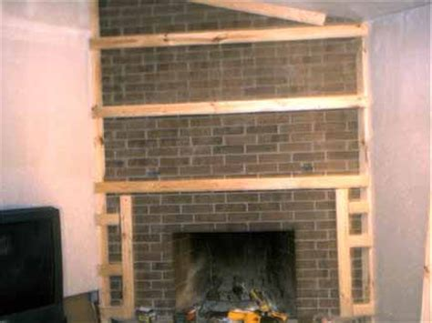 how to cover up fireplace dwnixon covering a brick fireplace