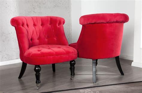 chaise capitonné fauteuil de chambre pas cher