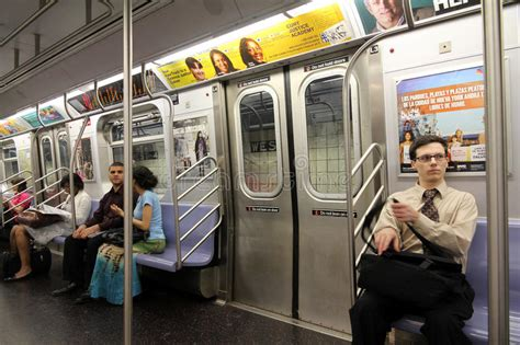 Metro New York Interieur by New York Subway Interior Editorial Photo Image