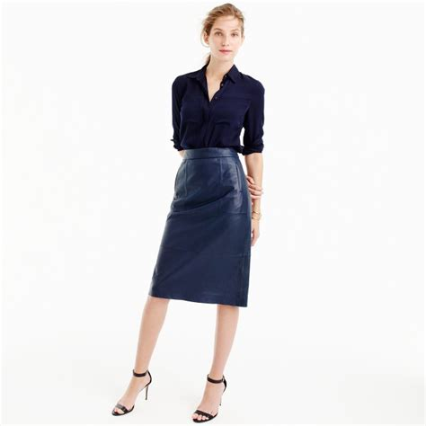 collection leather skirt s skirts j crew