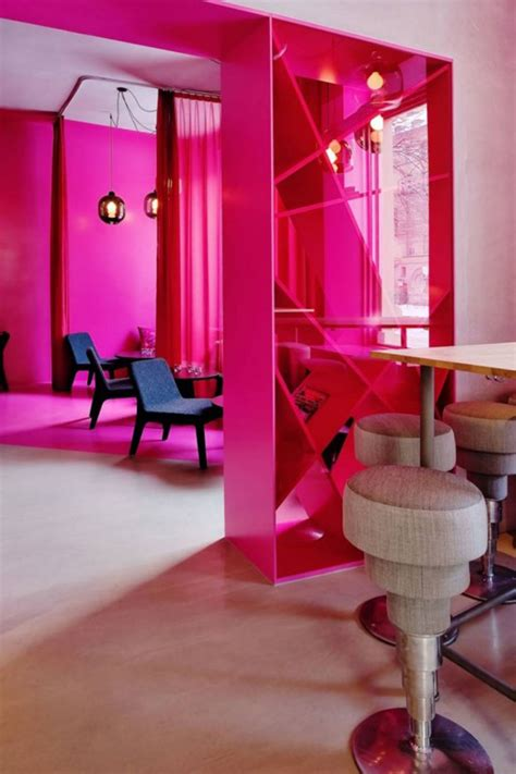 pink interior design pink cafe interior pictures iroonie com