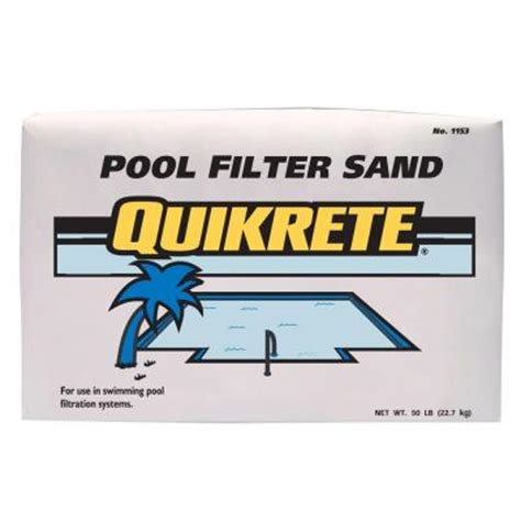 Silica Sand Home Depot by Pool Filter Sand Grade Silica