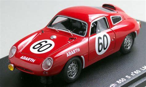 fiat 850s le mans world chionship 1961 ԗ l miniature car