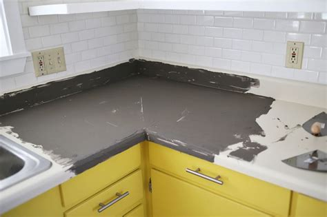 Concrete Countertop Finishing Techniques by Concrete Countertop Diy A Beautiful Mess