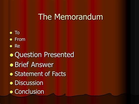Sle Memo Question Presented the rest of the memo drafting the question presented brief answer statement of facts 169 prof