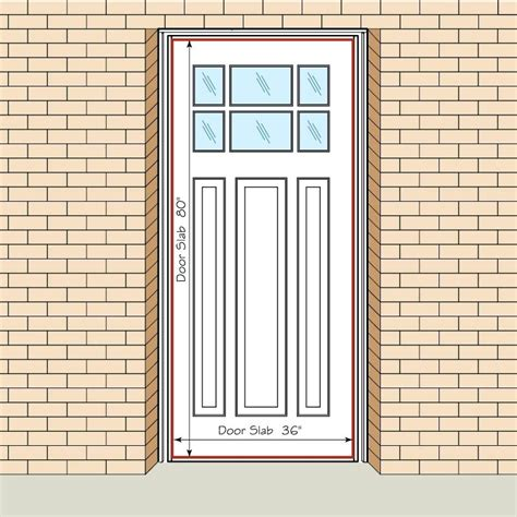 Standard French Door Size French Doors Sizes Exterior Door Standard Exterior Door