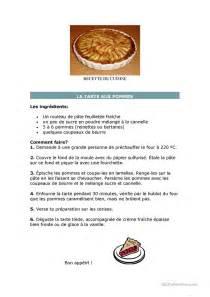 recette de cuisine fiche d exercices fiches p 233 dagogiques