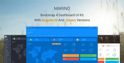 themeforest ui kit themeforest marino download bootstrap 4 dashboard ui kit