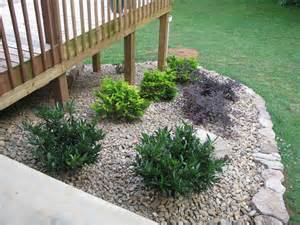How Much To Put Up A Fence In Backyard Lightsonthelake Rock Garden Around Deck Done