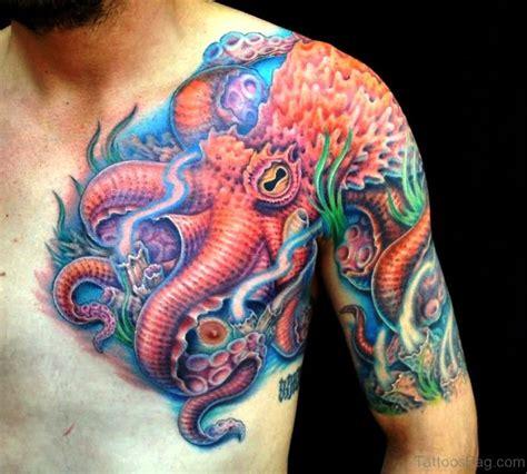 kraken tattoo on shoulder 40 cool kraken tattoos on shoulder