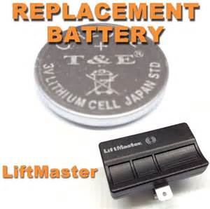 Garage Door Opener Remote Not Working After Battery Change New Liftmaster Garage Door Opener Remote Battery