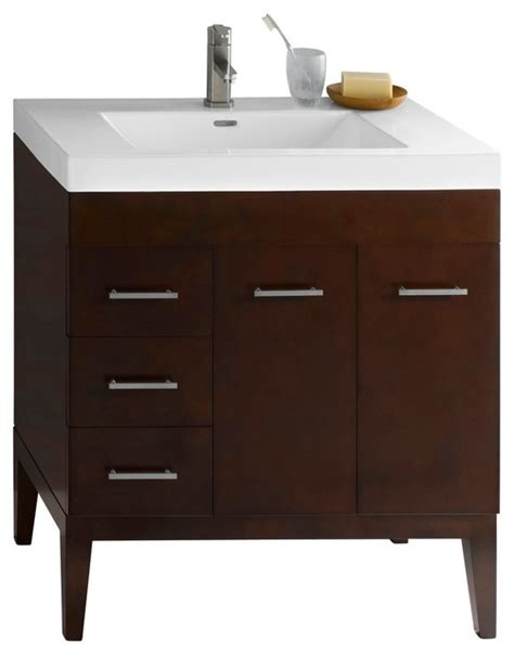 venus 31 quot bathroom vanity base cabinet in cherry