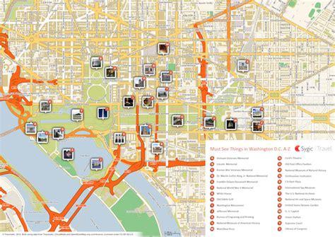 maps dc washington d c tourist map in pdf