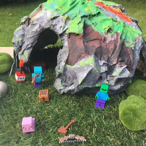 How To Make A Paper Mache Cave - how to make a papier mache cave tts inspiration