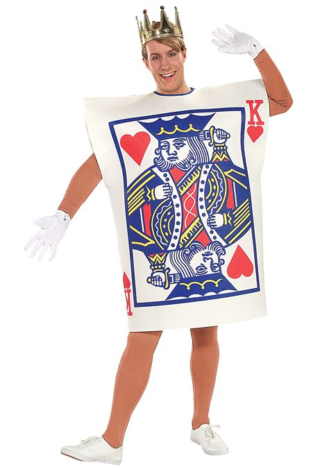 in card costume how to make king of hearts card costume