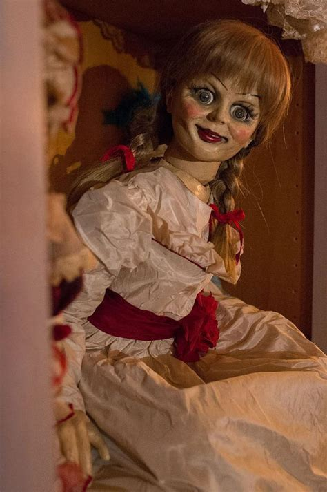 annabelle doll 2014 mezco announces annabelle living dead doll the conjuring