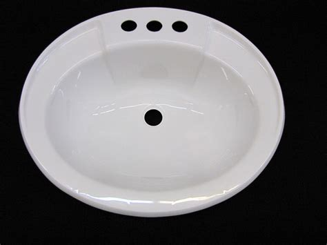 rv bathroom sinks mobile home rv marine parts bathroom lav sink white