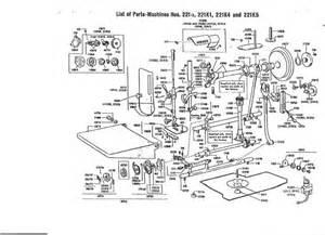 vintage sewing machine schematics vintage get free image about wiring diagram