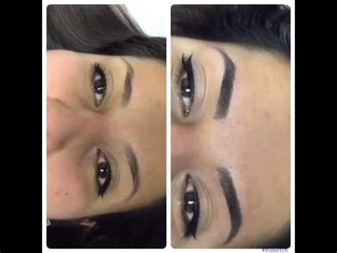 microblading ombr 233 technique youtube