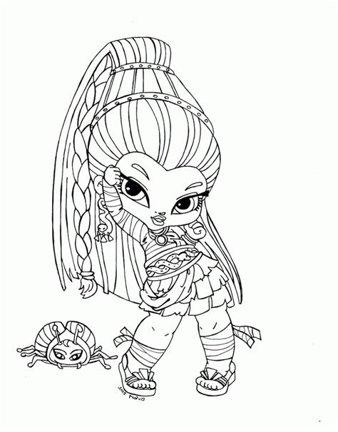 chibi monster high coloring pages download and print for free monster high printables coloring pages az coloring pages
