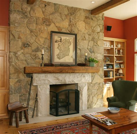 fieldstone fireplace antique bronze fieldstone this fireplace uses buechel