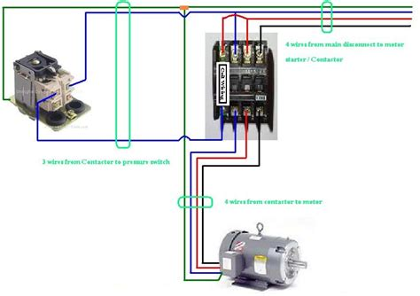 contactor wiring diagram three phase contactor wiring diagram elec eng world