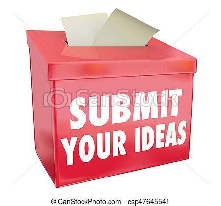 Drawing Your Comments by Submit Your Ideas Suggestion Box Send Proposals 3d