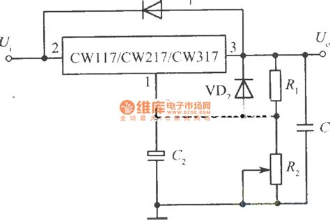 power supply integrated circuits adjustable integrated regulated power supply standard circuit battery charger power supply